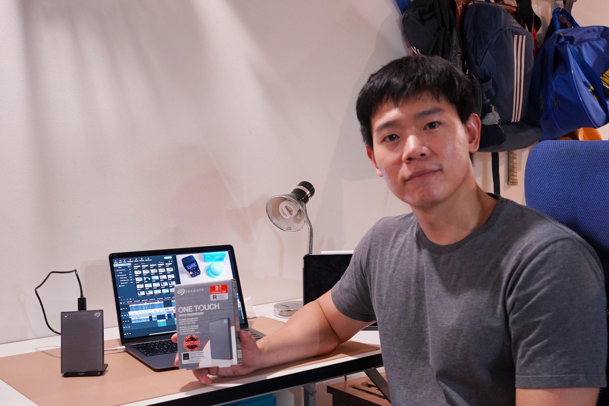 รีวิว Seagate One Touch with Password, Ext HDD รุ่นใหม่ล่าสุด แถมฟรี Adobe Creative Cloud Subscription!